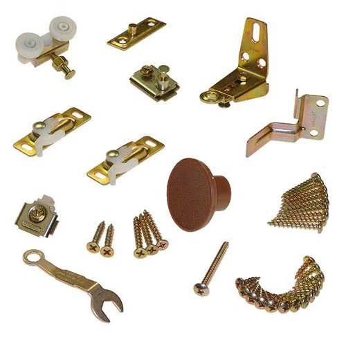 Johnson Hardware 111 Series Folding Door Hardware Set 11311107