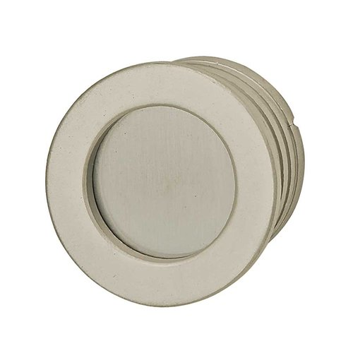 Hafele Bella Italiana 1-9/16 Inch Diameter Matte Nickel Recess Pull 151.98.600