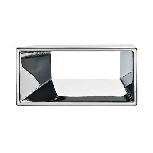 Hafele Silhouette 2-1/2 Inch Center to Center Polished Chrome Cabinet Pull 152.18.201