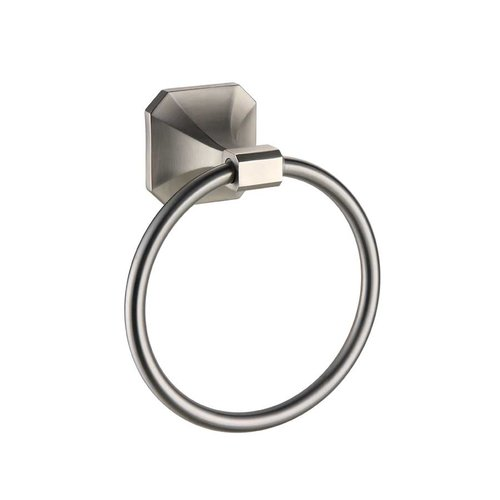 Paradise Bathworks Valhalla Towel Ring Satin Nickel 65028