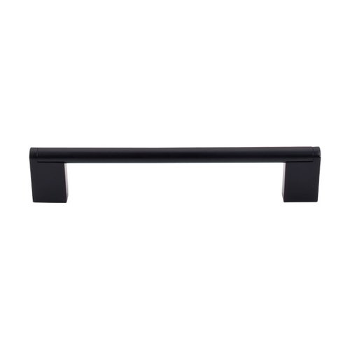 Top Knobs Bar Pull 6-5/16 Inch Center to Center Flat Black Cabinet Pull M1057