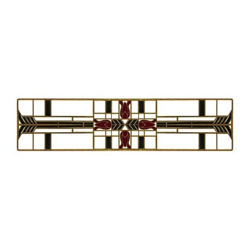 Notting Hill Arts & Crafts 3 Inch Center to Center Antique Brass Cabinet Pull NHP-617-AB-C