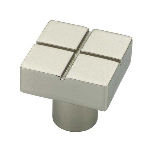 Liberty Hardware Urban Metals 13/16 Inch Diameter Matte Nickel Cabinet Knob P03134-MN-C