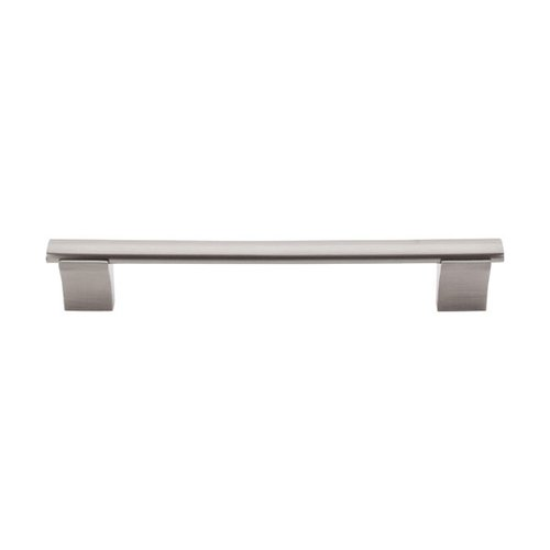 Top Knobs Bar Pull 6-5/16 Inch Center to Center Brushed Satin Nickel Cabinet Pull M1082