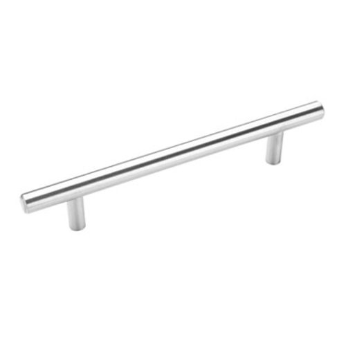 Amerock Bar Pulls 5-1/16 Inch Center to Center Sterling Nickel Cabinet Pull BP19541CSG9
