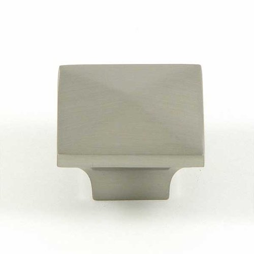 Milan 1-1/4 Inch Diameter Satin Nickel Cabinet Knob <small>(#CP53082-SN)</small>