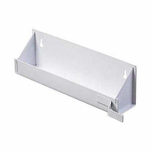 "Knape and Vogt White Epoxy Sink Front Tray 16"" ESF16W-W"