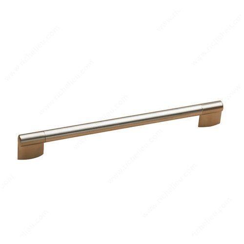 Richelieu Bar Pulls 8-13/16 Inch Center to Center Stainless Steel Cabinet Pull 70031224170