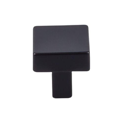 Top Knobs Barrington 1-1/16 Inch Diameter Flat Black Cabinet Knob TK740BLK