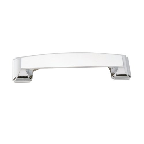 Hickory Hardware Bridges 3-3/4 Inch Center to Center Chrome Cabinet Cup Pull P3234-CH