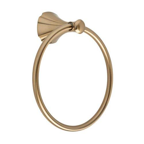 """Delta Addison 6-5/16"""" Dia Towel Ring Champagne Bronze 79246-CZ"""