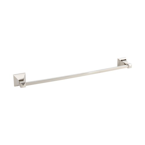 Atlas Homewares Gratitude Towel Bar 24 inch Polished Nickel GRATB600-PN