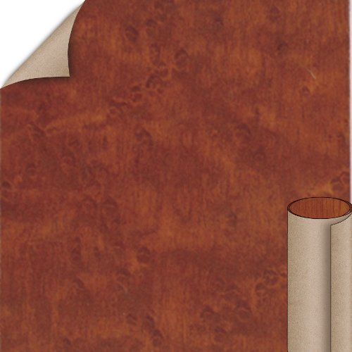 Cognac Birdseye Velvet Finish 4 ft. x 8 ft. Vertical Grade Laminate Sheet <small>(#W8348V-V-V3-48X096)</small>