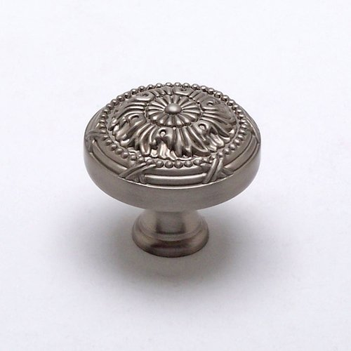 Toccata 1-1/2 Inch Diameter Brushed Nickel Cabinet Knob <small>(#8249-1BPN-P)</small>