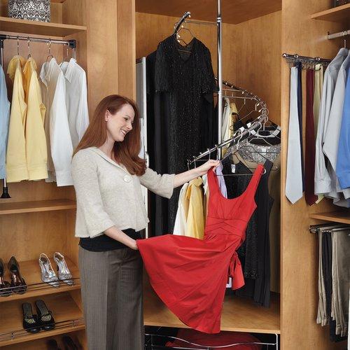 Rev-A-Shelf 360 Degree Spiral Clothes Rack SHR-3684