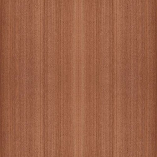 Veneer Tech African Mahogany Wood Veneer Plain Sliced 10 Mil 4' X 8'