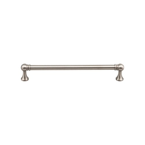 Top Knobs Serene 7-9/16 Inch Center to Center Brushed Satin Nickel Cabinet Pull TK805BSN