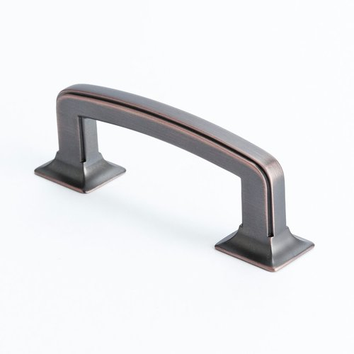 Hearthstone 3 Inch Center to Center Venetian Bronze Cabinet Pull <small>(#4063-10VB-P)</small>