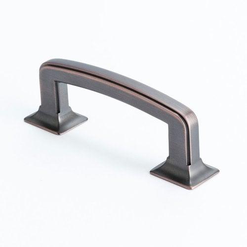 Berenson Hearthstone 3 Inch Center to Center Venetian Bronze Cabinet Pull 4063-10VB-P