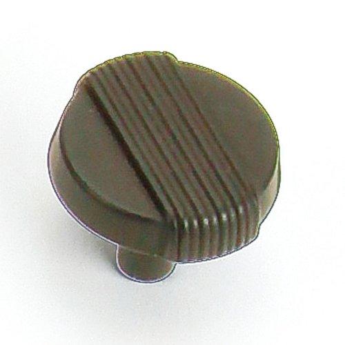 Laurey Hardware Wired 1-1/4 Inch Diameter Oil Rubbed Bronze Cabinet Knob 39066