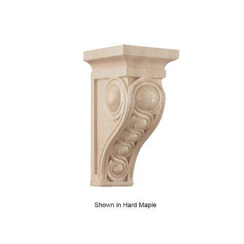 Brown Wood Medium Infinity Corbel Unfinished Walnut 01600937WL1