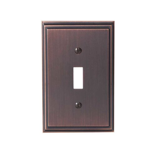 Amerock Mulholland One Toggle Wall Plate Oil Rubbed Bronze BP36514ORB