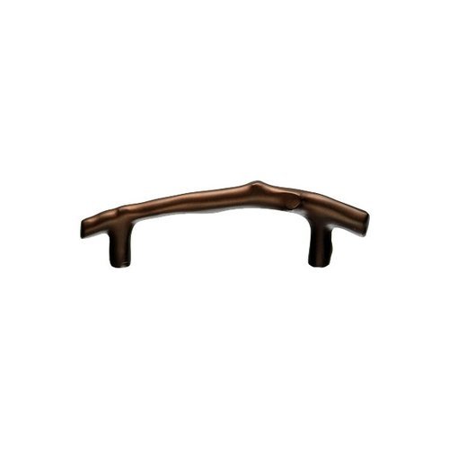 Top Knobs Aspen 3-1/2 Inch Center to Center Mahogany Bronze Cabinet Pull M1343
