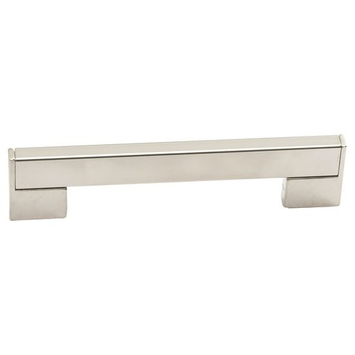 Schaub and Company Italian Designs Bistro 8-13/16 Inch Center to Center Satin Nickel Cabinet Pull 246-224-15