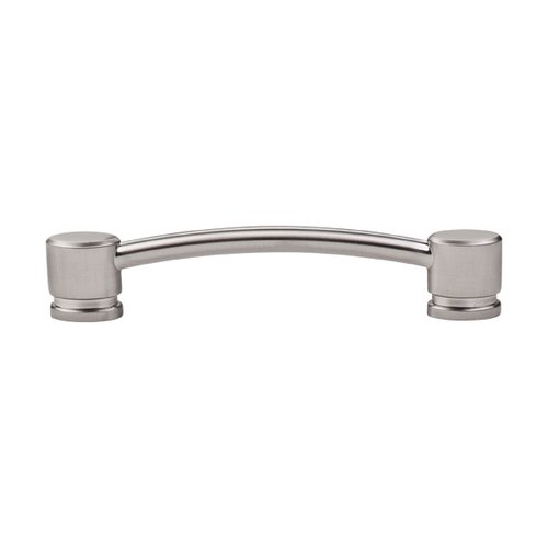 Top Knobs Sanctuary 5 Inch Center to Center Brushed Satin Nickel Cabinet Pull TK64BSN