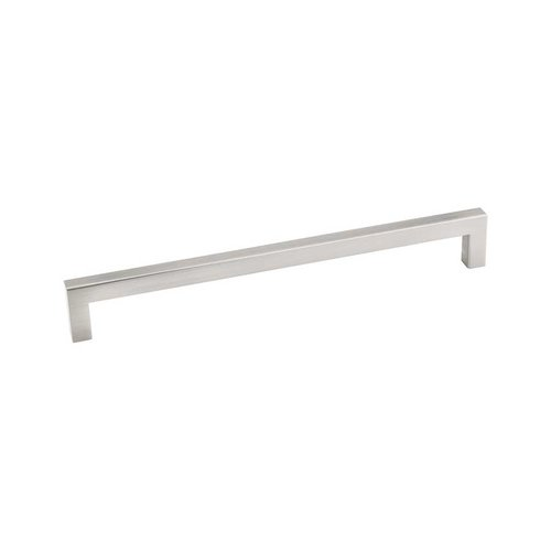 Elements by Hardware Resources Stanton 7-9/16 Inch Center to Center Satin Nickel Cabinet Pull 625-192SN
