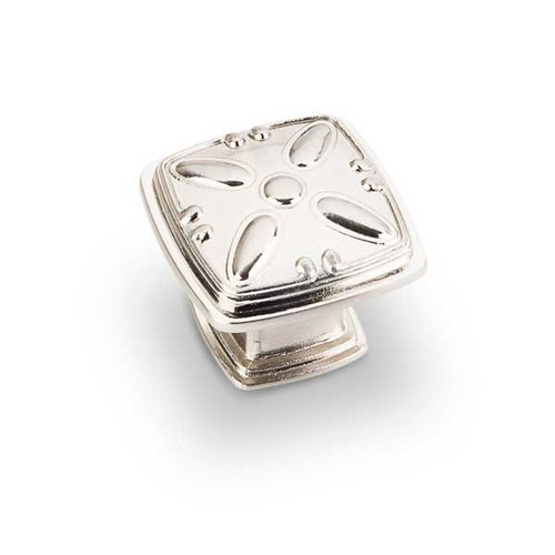 Jeffrey Alexander Milan 2 1-3/16 Inch Diameter Satin Nickel Cabinet Knob 1093SN