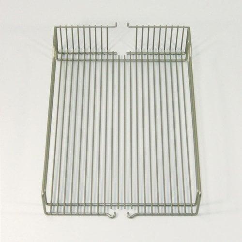 Kessebohmer Wire Basket Set (2) 16 inch Wide Chrome 546.63.224