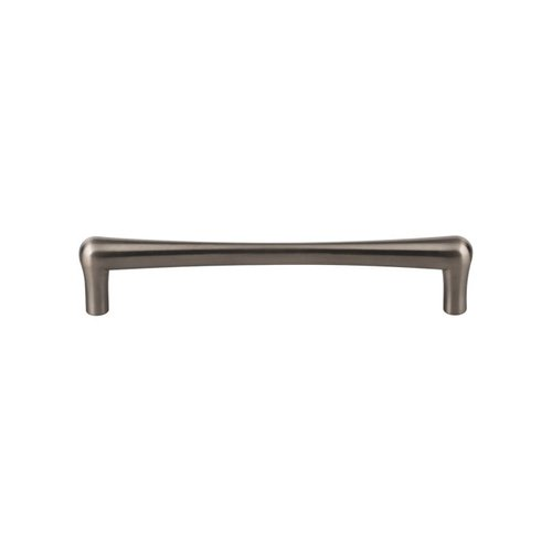 Top Knobs Barrington 6-5/16 Inch Center to Center Brushed Satin Nickel Cabinet Pull TK765BSN