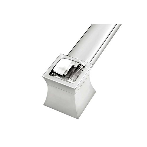 Zen Vitta 31-1/2 Inch Center to Center Diamond Chrome Cabinet Pull ZP0771.92