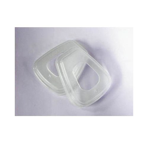 3M Respirator Pre-Filter Retainer Clear 501