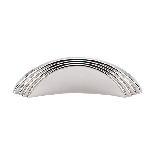 Top Knobs Sydney Harbour 2 Inch Center to Center Polished Nickel Cabinet Knob TK212PN