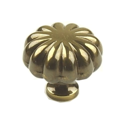 Century Hardware Plymouth 1-1/4 Inch Diameter Polished Antique Cabinet Knob 10335-PA