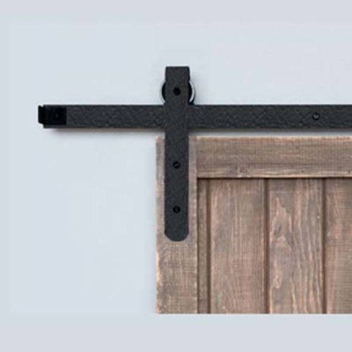 Acorn Manufacturing Designer Barn Door Rolling Hardware Rough Iron BH7BI