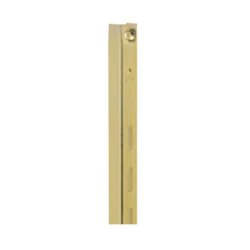 "Knape and Vogt KV #80 Steel Standard-Brass 48"" 80 BR 48"