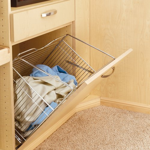 "Rev-A-Shelf Tilt Out Hamper 21"" - Chrome CTOHB211319CR"