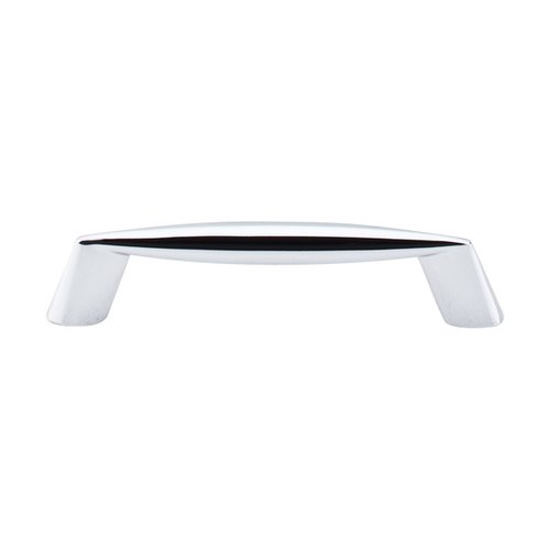 Top Knobs Nouveau II 3-3/4 Inch Center to Center Polished Chrome Cabinet Pull M569