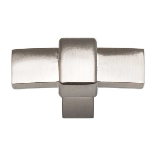 Atlas Homewares Buckle Up 1-13/16 Inch Diameter Brushed Nickel Cabinet Knob 301-BRN