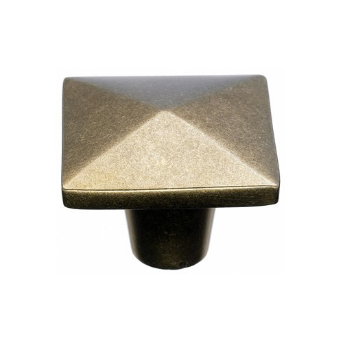 Top Knobs Aspen 1-1/2 Inch Diameter Light Bronze Cabinet Knob M1521