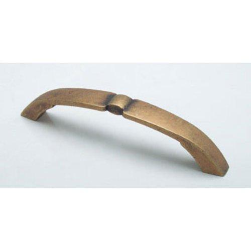 Berenson Euro Retro 5-1/16 Inch Center to Center Dull Antique Brass Cabinet Pull 2942-1DAB-C