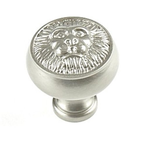 Century Hardware Roman 1-1/4 Inch Diameter Matte Satin Nickel Cabinet Knob 19306-MSN