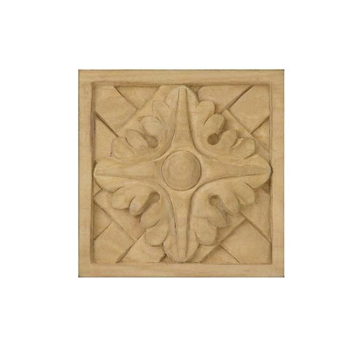 Brown Wood Small Weaved Tile Unfinished Hard Maple 01902070HM1