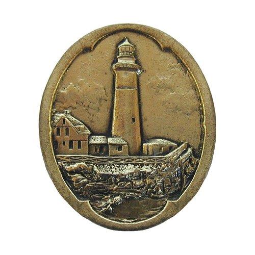 Notting Hill Tropical 1-1/2 Inch Diameter Brite Brass Cabinet Knob NHK-142-BB
