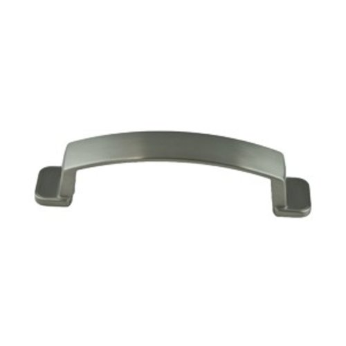 Oasis 3-3/4 Inch Center to Center Brushed Nickel Cabinet Pull <small>(#9246-1BPN-P)</small>