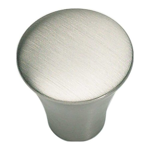 Atlas Homewares Fluted 7/8 Inch Diameter Stainless Steel Cabinet Knob A855-SS