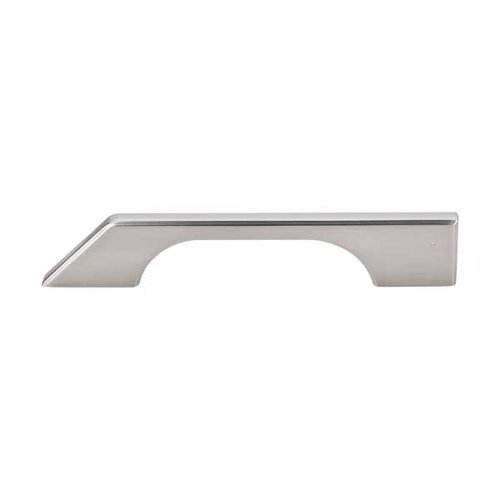 Top Knobs Sanctuary 5 Inch Center to Center Brushed Satin Nickel Cabinet Pull TK14BSN
